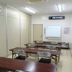 奉仕活動室
